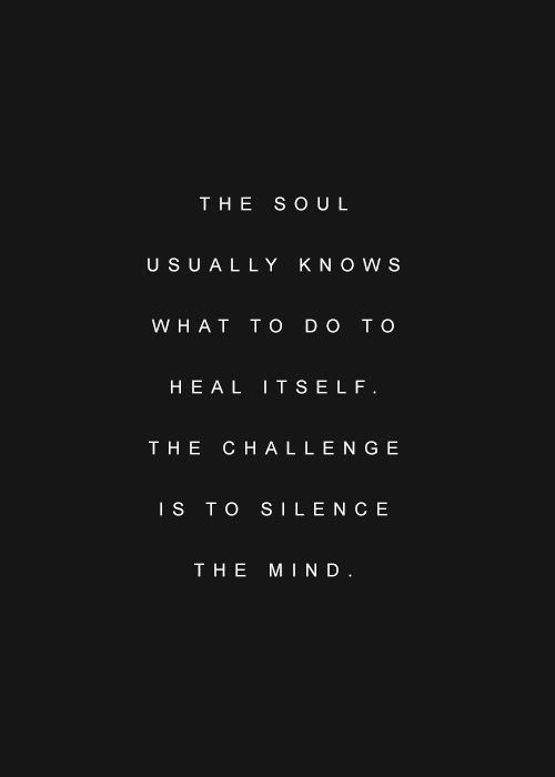 the-soul-usually-knows
